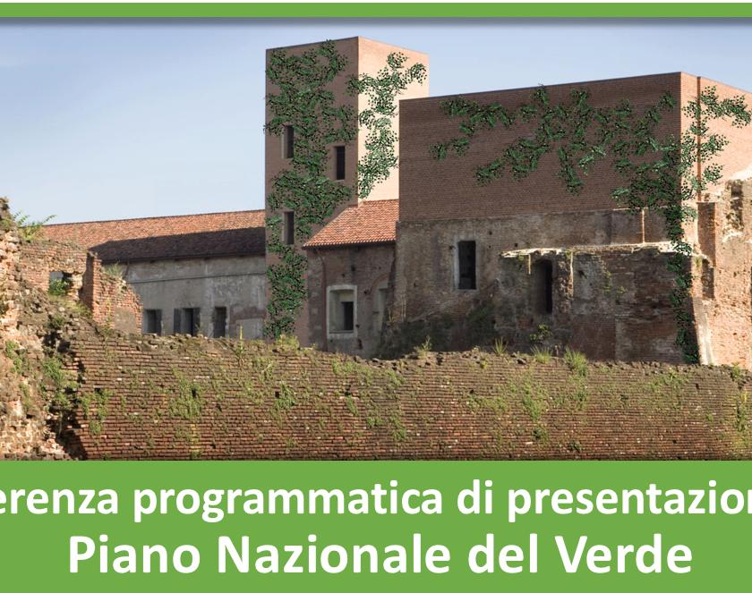 Conferenza programmatica di presentazione del Piano Nazionale del Verde