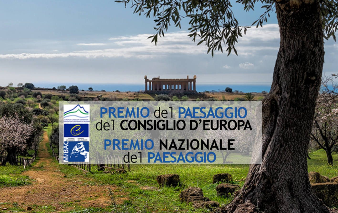 VI Edizione del Premio del Paesaggio del Consiglio d'Europa 2018