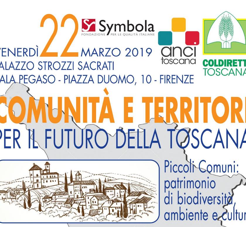 """Comunità e territori per il futuro dell'Italia. Assofloro alla presentazione di Firenze del rapporto Symbola/Coldiretti: """"Piccoli comuni e tipicità""""."""