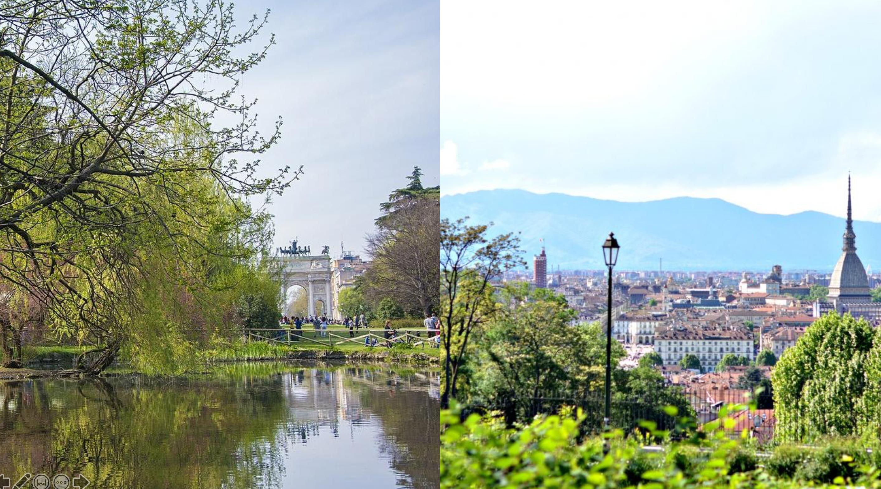Torino-Milano: la sfida ai cambiamenti climatici. Il 21 Novembre gli Stati Generali del Verde Pubblico di Torino e il WFUF Milano Calling