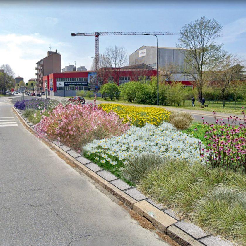 """Milano, parte la prima campagna in Italia di """"desealing"""". Verde al posto di cemento e asfalto"""