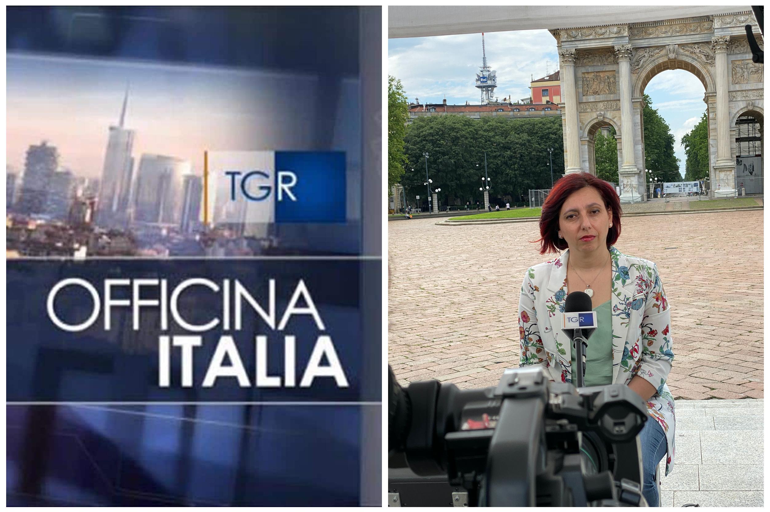 """A """"Officina Italia"""", settimanale di RAI3, focus sulla crisi del florovivaismo con Nada Forbici, Presidente Assofloro"""