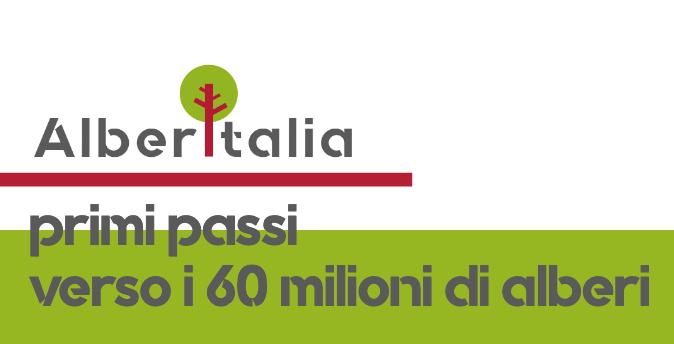 Il 18 giugno nasce AlberItalia: primi passi verso i 60 milioni di alberi