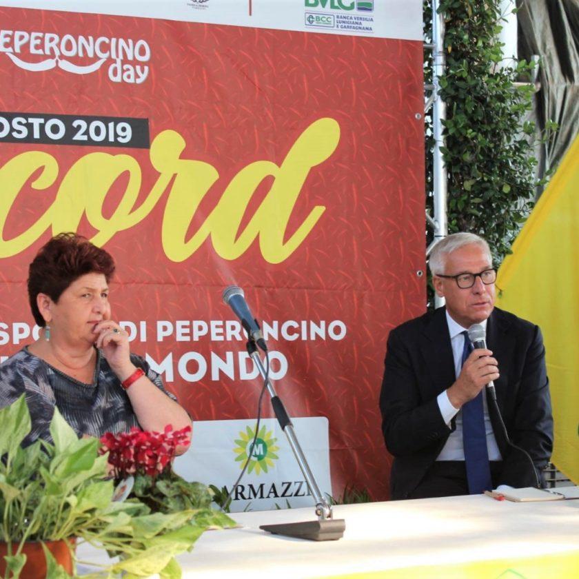 """""""Non c'è dignità per un'azienda se non c'è marginalità"""". La Ministra Bellanova in visita all'Azienda Agricola Carmazzi"""